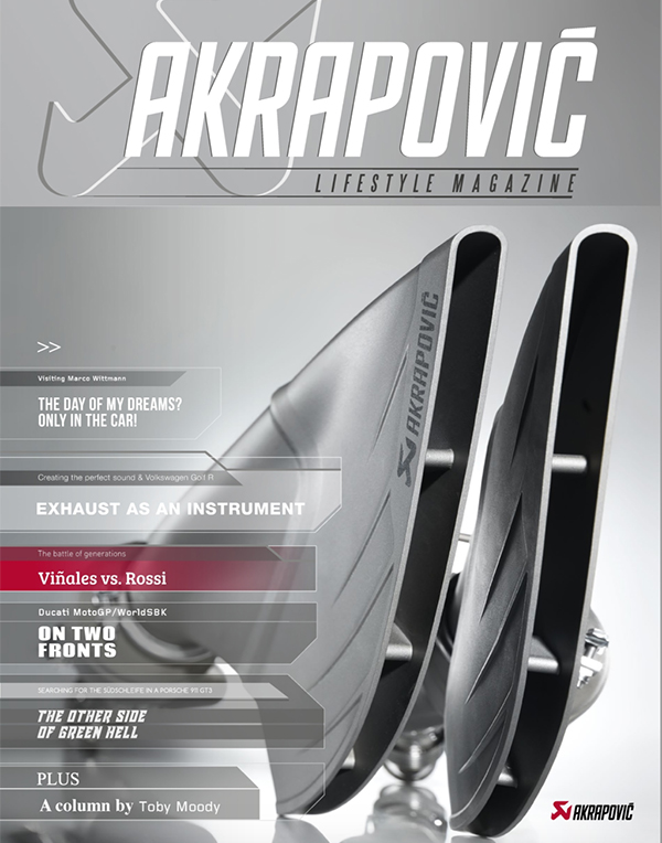 Akrapovic Lifestyle magazine May 2017